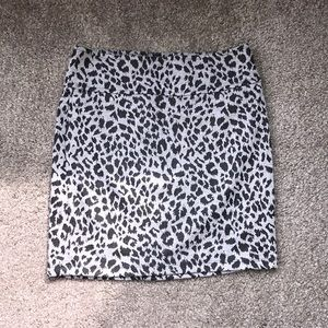 Black&Gray cheetah print skirt🖤🖤🖤